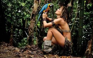 Menina bonita do Amazonas.