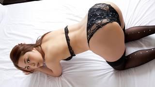 Mujer japonesa joven erótica.