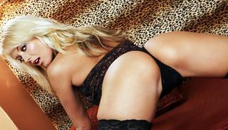 Sexy ass Bikini-Mädchen.